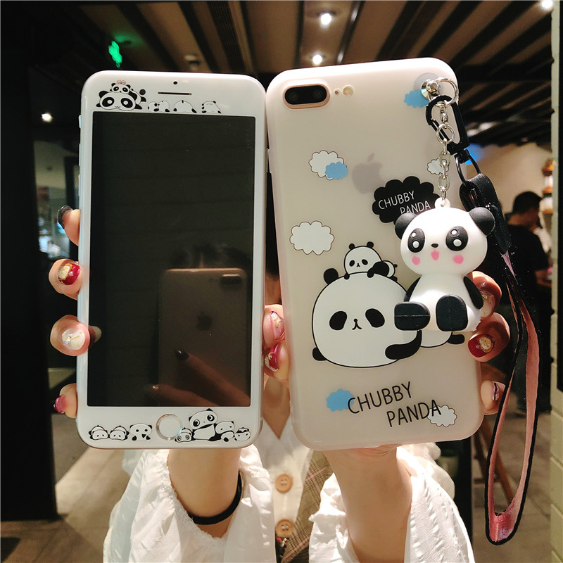 Panda Love iPhone 6S Plus Back Cover
