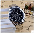 relogio masculino de luxo explosion air strip Mens watch for cash stainlesssteel black mens watches top brand luxury