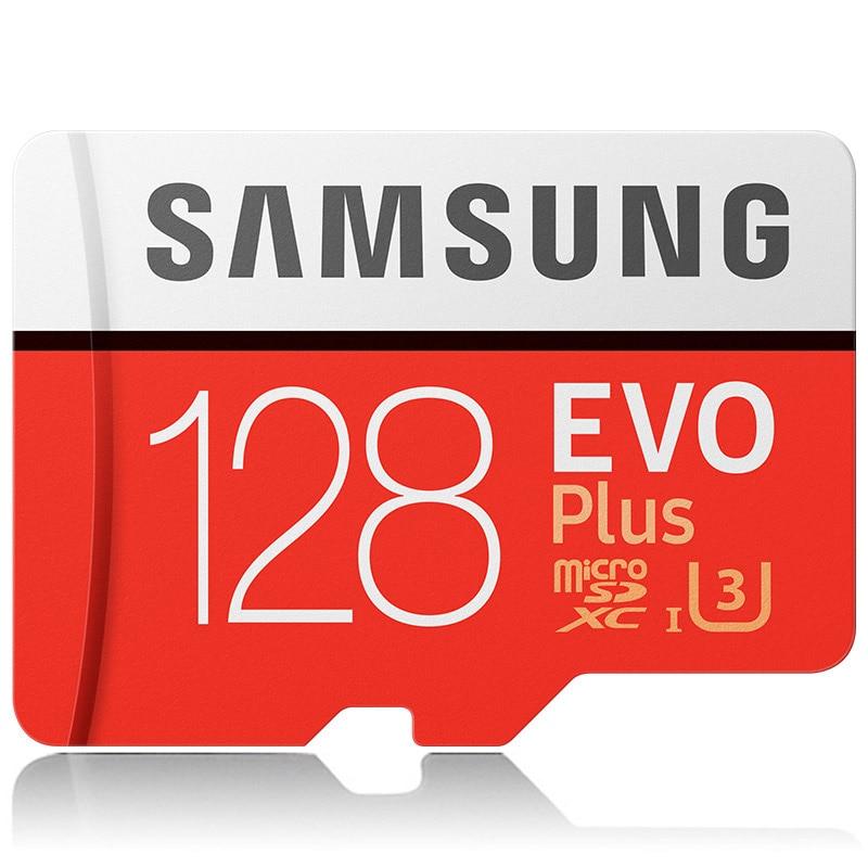 Original SAMSUNG Micro SD 32GB Class 10 Memory Card EVO+ EVO Plus MicroSDhc SDXC 256GB 128GB 64GB 16GB Carte Micro SD TF Card