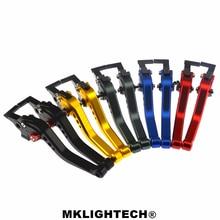 MKLIGHTECH FOR HONDA CBR500R/CB500F/X 13-18 CB190R  16-17 CB190X 17-18 Motorcycle Accessories CNC Short Brake Clutch Levers cnc levers for cbr500r cb500f 13 18 cbr300r cb300f 14 17 grom msx125 14 18 cbr250r 11 13 long short brake clutch levers