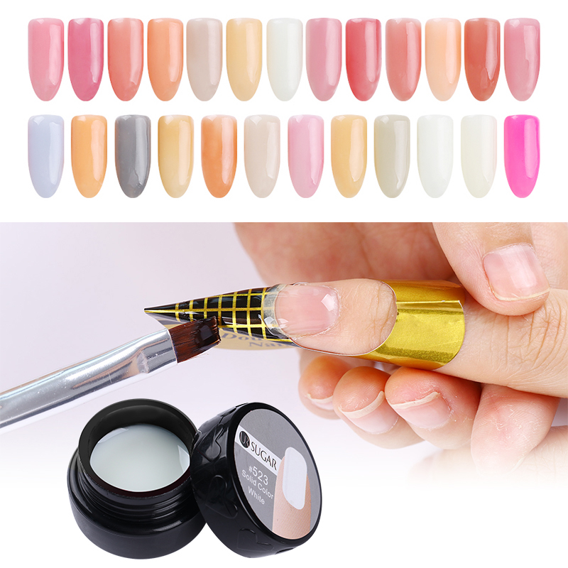 100 Pcs Quick Building Mold Tips Nail Dual Forms Finger Extension Nail Art UV Builder Poly Gel Tool