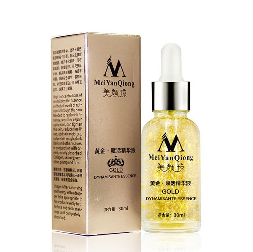 Skin Care Pure 24K Gold Essence Day Cream Anti Wrinkle Anti Aging Collagen Whitening Moisturizing Hyaluronic Acid Hot Sale