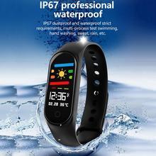 Original M4 Smart Band Sport Fitness Tracker Pedometer Heart Rate Monitoring Waterproof Swimming Health Sports Bracelet