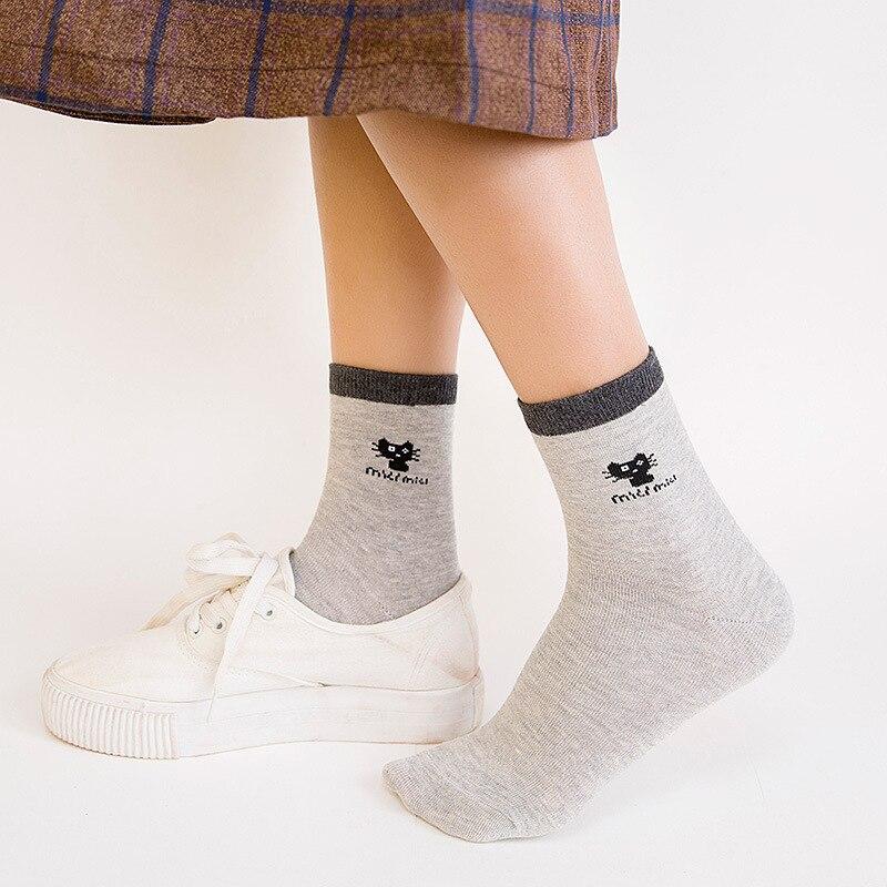 5 pairs Cotton funny socks women casual cartoon breathable happy socks variety of funny sock optional in Socks from Underwear Sleepwears