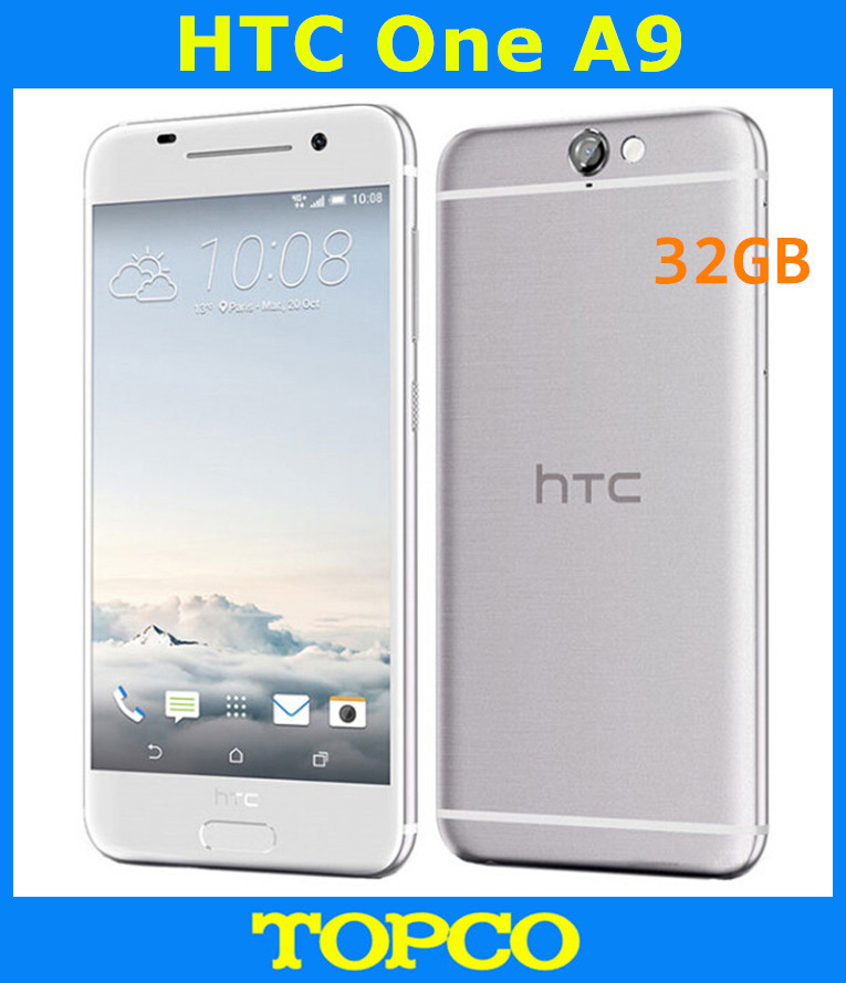HTC One A9 32GB GSM/WCDMA/LTE New Android Mobile-Phone Unlocked Original 3G 4G GPS Quad-Core