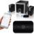 Bluetooth Wireless 2.1 2en1 Transmisor Receptor de Audio de 3.5mm AUX IN/Out Música apt-x de Sonido Estéreo Inalámbrico Adaper OD # S