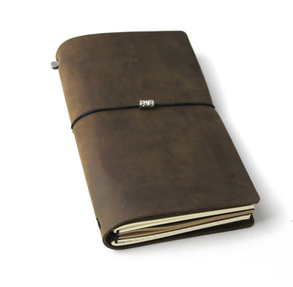 Vintage Refillable Leather Travelers Journals Diary leather diary notepad notebook handmade Traveler's Notebook travels цена