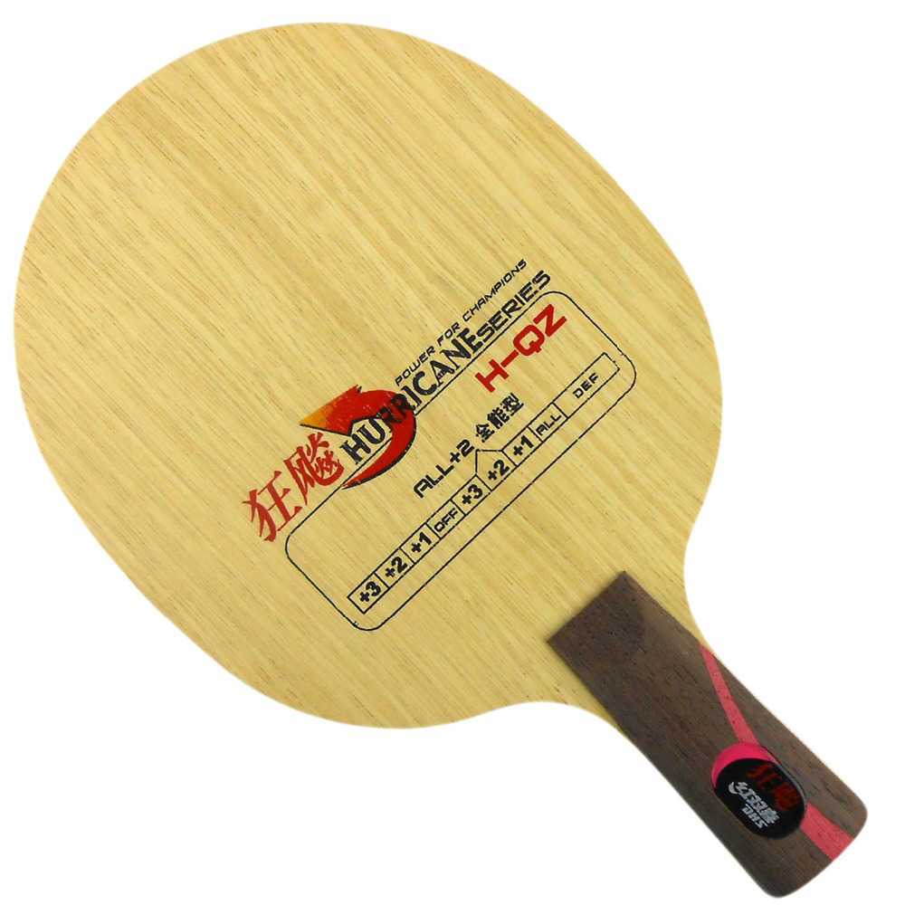 DHS Hurricane H-QZ H QZ Table Tennis Blade penhold short handle CS for PingPong Racket цена и фото