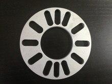 Um pic 8mm 10mm Universal Adaptador Espaçador Da Roda 4×98 4×100 5×108 5×112 5×114.3 5×115 5×120 5×127 5×130 Acessórios Do Carro