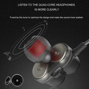 Image 4 - Greendio GD8 سماعات 2DD مزدوجة الديناميكي في الأذن سماعة ايفي تشغيل الرياضة سماعات الأذن المزدوج محرك الضوضاء عزل سماعة