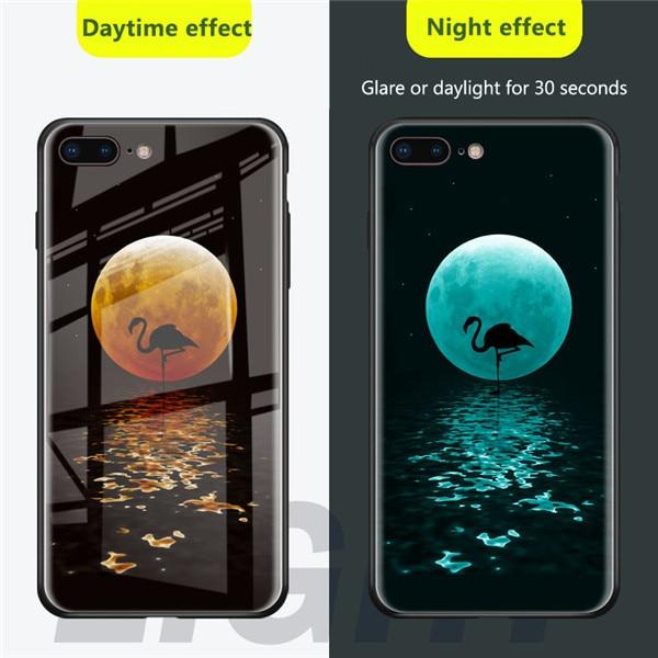 Чехол из закаленного стекла для iPhone X, XS, MAX, XR, 10, 6 S, 7, 8 Plus, 7 Plus, 8 Plus, 11 PRO, чехол для телефона с Бэтменом - Цвет: FLAMINGO