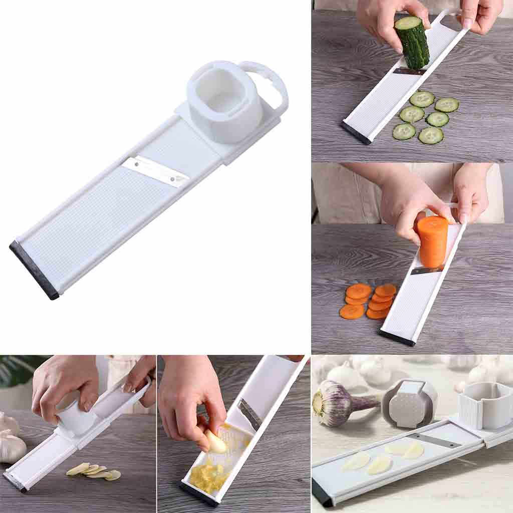 Mandoline Slicers Shredders for Vegetarian Cucumber Courgette Potato Slicer Carrot Garlic Press Accessories Kitchen Gadgets Tool