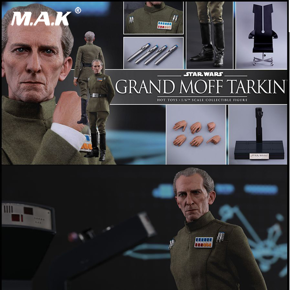 Full set Colletible 1/6 Scale Star Wars: Episode IV - A New Hope Grand Moff Tarkin Peter Cushing Figure Model Toys