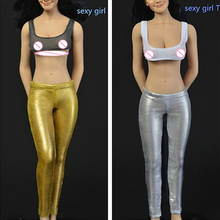 New Hand Made 1/6 Sexy Toys Girl Female Doll sexy tights Suit for DIY 12Phicen/Hotstuff/OE/LD/UD Body Action Figure цена