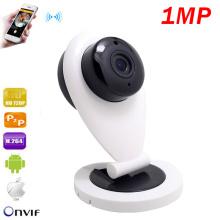 1mp HD Mini Wifi IP Camera Wireless 720P Smart P2P Audio Baby Monitor CCTV Security Camera Mrico SD Card Record Night Vision Cam