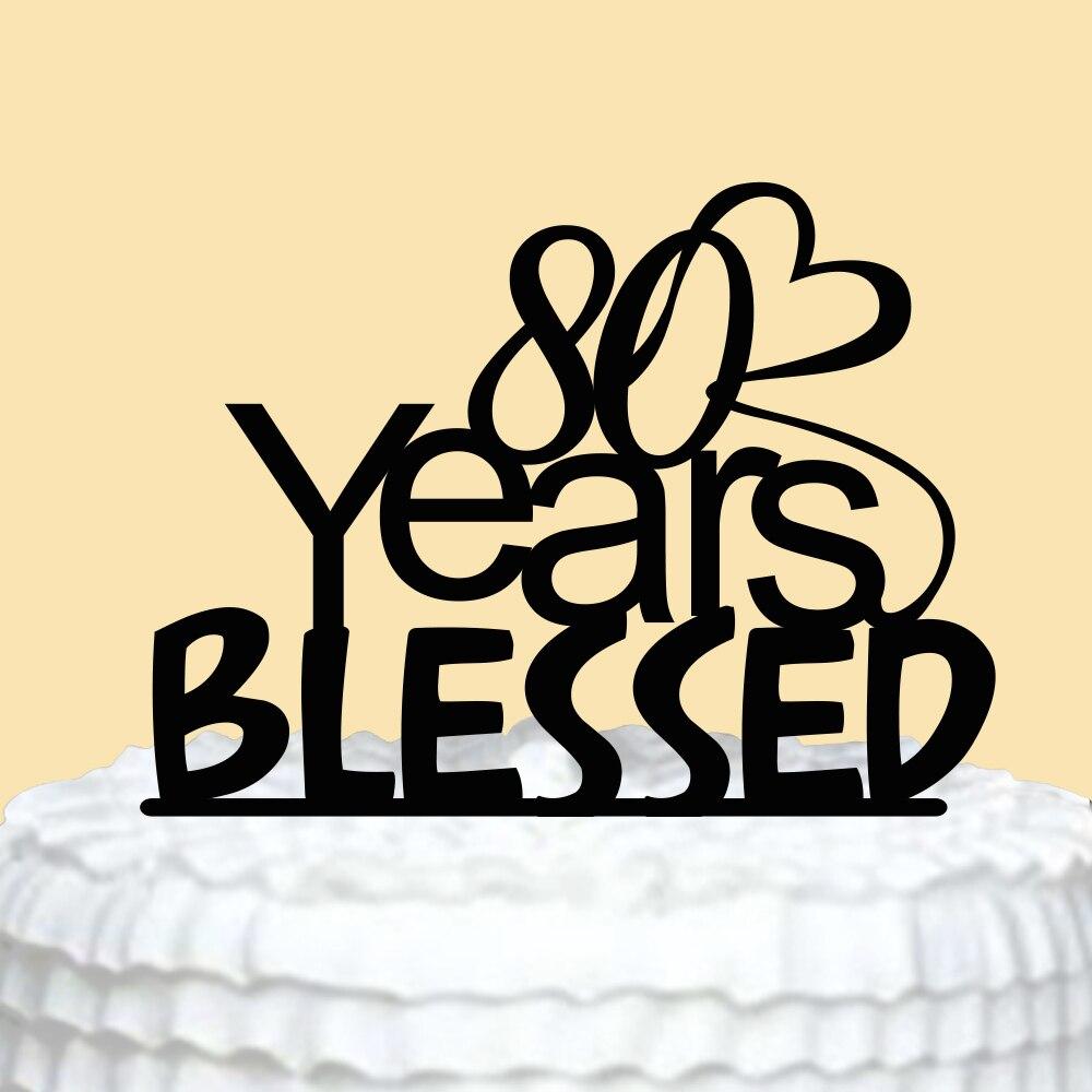 Aliexpress.com : Buy Happy Birthday Cake Topper Personalized Acrylic ...