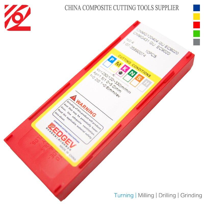EDGEV CNC karbido intarpai CNMG120404 CNMG120408 CNMG431 CNMG432 - Staklės ir priedai - Nuotrauka 5