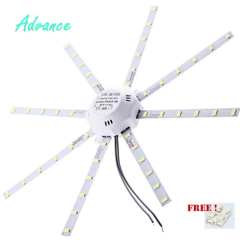 Ceiling Lamps LED Module 12W 16W 20W 24W AC220V 230V 240V LED Light Ceiling Lamp Lighting