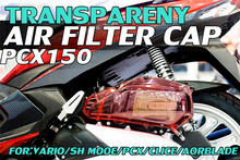 Couvercle décoratif pour couvercle de filtre à Air de moto Engone pour Honda Vario 150 PCX 150 Click 125i 150i Aor lame 125 sous os
