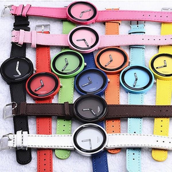 Watch Women Watches Leather Women's Watches Fashion Ladies Watch Women Clock 1