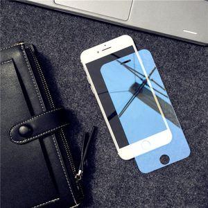Image 2 - מראה מזג זכוכית עבור iPhone X XR XS מסך מגן זכוכית עבור iPhone 6 6s 7 8 בתוספת 11 12 פרו מגן זכוכית משמר כיסוי