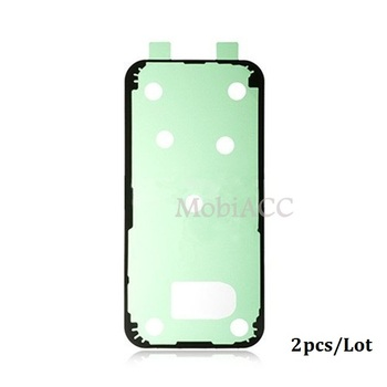 2pcs/Lot Original Back Glass Battery Cover Adhesive Sticker Replacement Part for Samsung Galaxy A3 (2017), A320FL, A320F, A320Y image