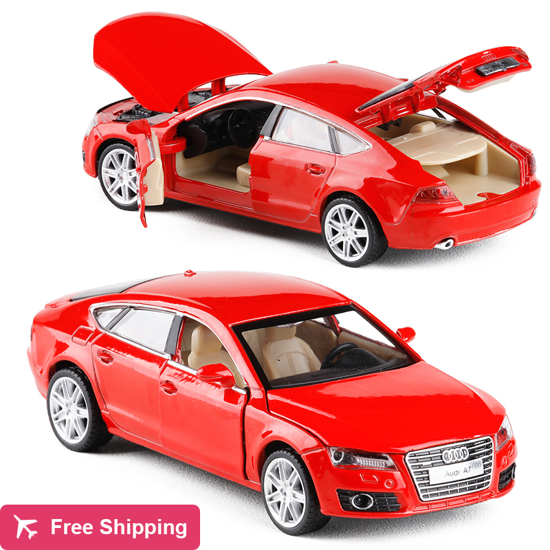 High Simulation Exquisite Collection Toys Car Styling Audi A7 Model Decoration 1:32 Alloy Car Model Excellent Gift Free Shipping image