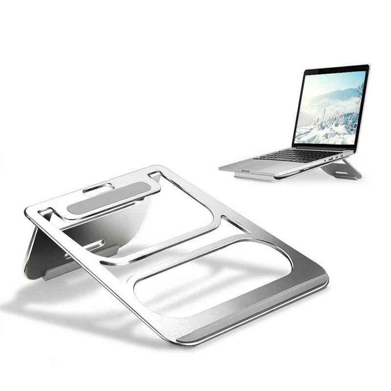 Portabil suport din aluminiu pentru laptop Stand pentru tablete de - Materiale școlare și educaționale - Fotografie 2