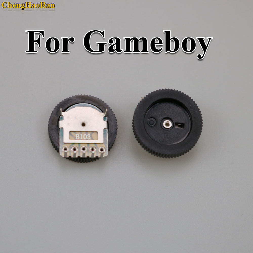 Image 3 - ChengHaoRan 2pcs Replacement For GB Classic Volume Switch for Game boy for GBA GBC Motherboard Potentiometer-in Replacement Parts & Accessories from Consumer Electronics