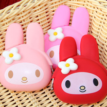Children Bags Wallets Coin-Purse Cat Bunny Rabbit Girls Smart Silicone Cartoon Women