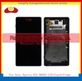 "5.0"" For Sony Xperia Z2A D6563 Full Lcd Display Touch Screen Sensor Digitizer Panel Assembly Complete With Frame Black+Tracking"