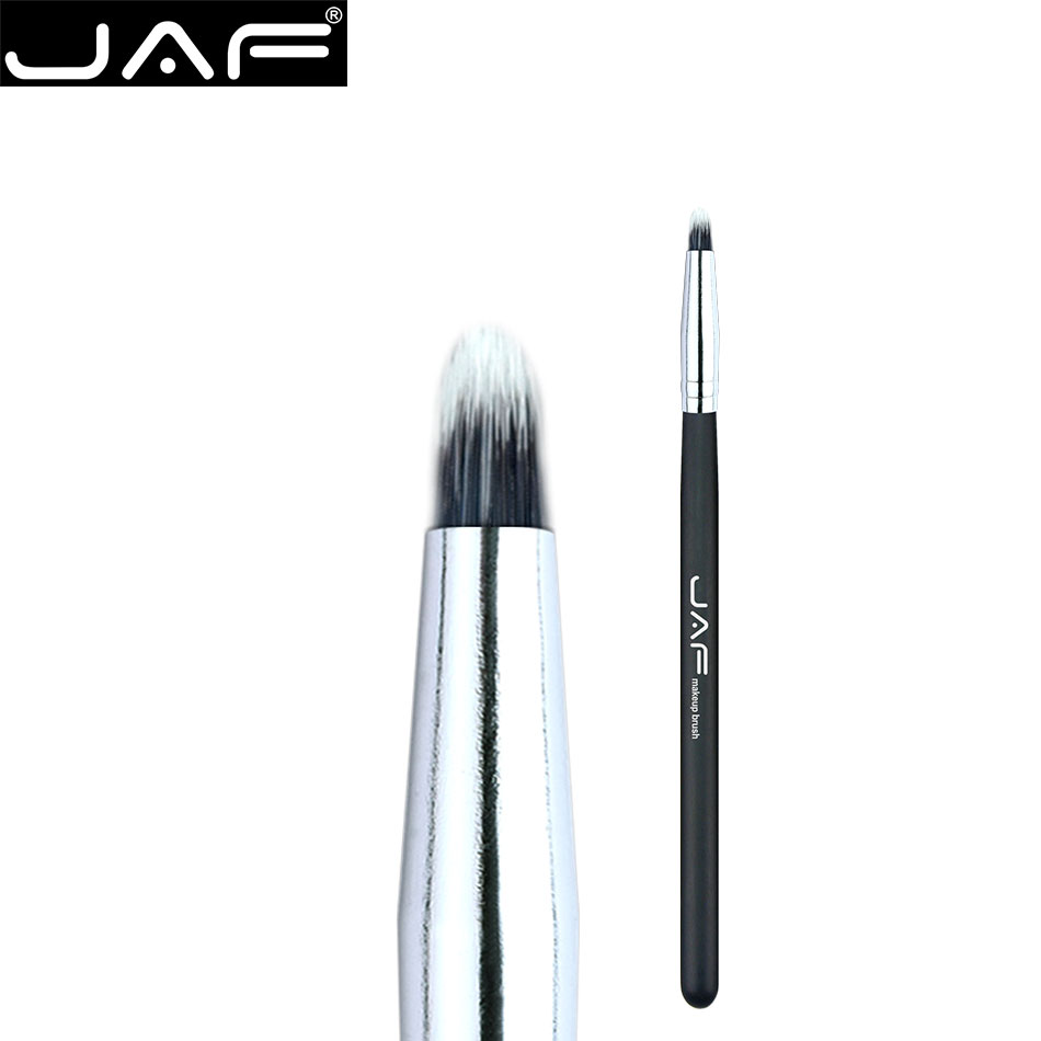 JAF Eye Liner Makeup Brush Concealer Small Eyeshadow Lip Brush Women Wood Handle Cosmetic Make Up Tools Synthetic hair 04SSYJ professional eyeshadow brush makeup kit designer cosmetic eye makeup tools with luxury case synthetic