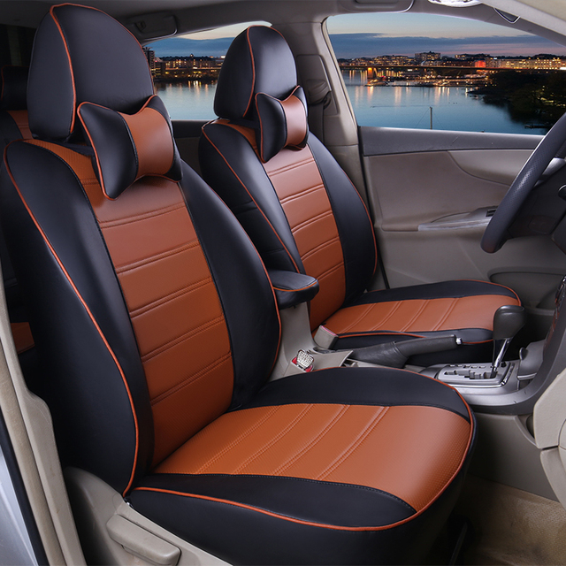 Custom Fit Leather Car Seat Covers For Jeep Grand Cherokee Wrangler Commander Compass Patriot