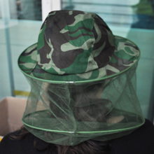 Камуфляж Паттен шляпа пчеловода Пчеловодство маска для лица