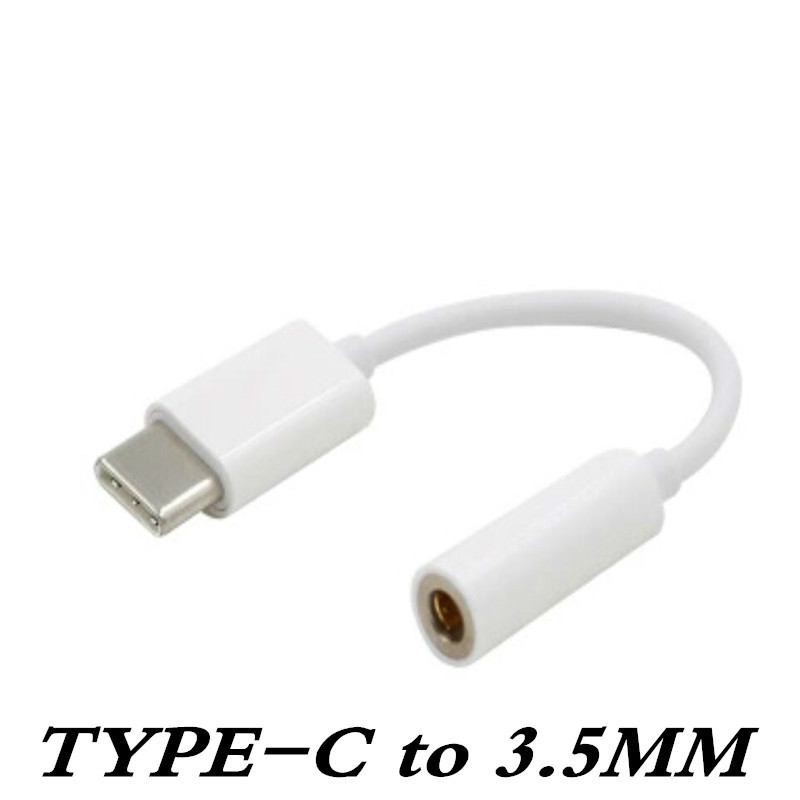 Type C USB-C Male To 3.5mm Jack Earphone Headset Female Adapter Connector For Letv LeEco Le Max 2 Pro XIAOMI HUAWEI OPPO Type-c