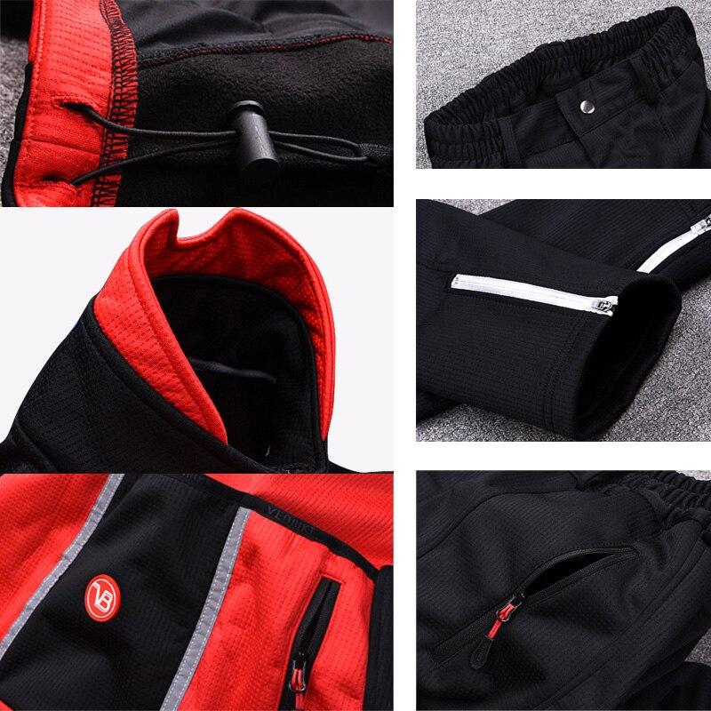 Ski costume pour homme Hiver Nouveau Extérieure Coupe-Vent Imperméable Thermique Mâle pantalon de neige Ensembles Ski Snowboard Ski pantalon Hommes - 5