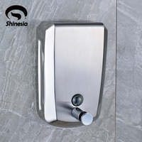 Wholesale And Retail Solid Brass Bathroom Liquid Soap Dispenser Chrome