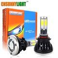 CNSUNNYLIGHT 9005 HB3 H10 COB СВЕТОДИОДОВ Автомобилей Лампы Фар 40 Вт 8000LM High Power LED Фары 3000 К 6000 К 8000 К Светодиодная Лампа 12 В Комплект