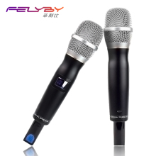 Фотография U Professional Wireless Microphone Stage Performance Microphone Handheld Microphone Wireless Receiver for Kara OK KTV Party