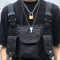 Cool Punk Gothic Men Women Unisex 2 in 1 Heavy Duty Chain Choker Squre Lock Collar Metal Link Key Necklace