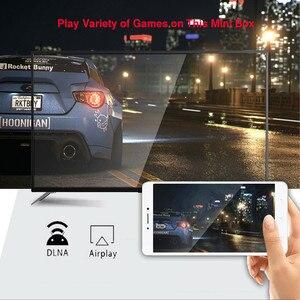 Image 4 - Inteligentne pole TV Android 9.0 H96 MAX RK3328 WIFI 4G 32G H.265 Google Play dekodery Youtube IPTV Mini inteligentne pudełko kanada francuski