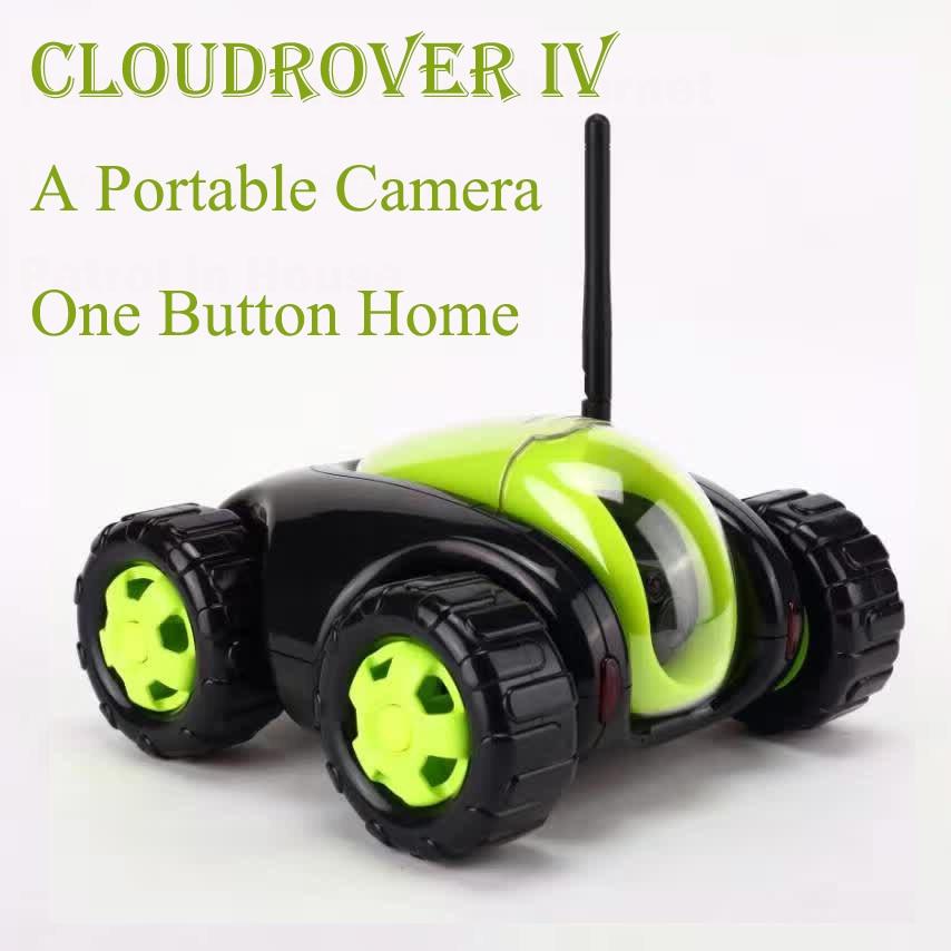 Rc-lastwagen Neue Rc Auto Mit Kamera 4ch Wifi Tank Wolke Rover Tragbare Ip-kamera Haushaltsgeräte Ir Fernbedienung One Button Startseite Fswb
