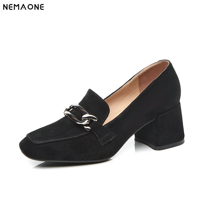 2019 new women high heels genuine leather shoes spring autumn pumps fashion payty shoes siketu 2017 free shipping spring and autumn women shoes fashion sex high heels shoes red wedding shoes pumps g107