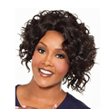 Black  Curly Wig Cheap Wig Synthetic Hair for Women Sale Short Wigs for Black Women