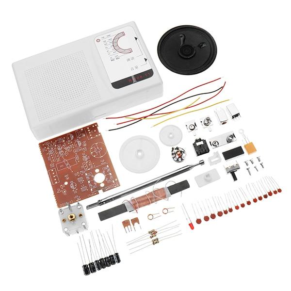 1Set DIY FM AM Radio CXA1691 Students Soldering Practice Set Electronic Production Kit Learning Kit