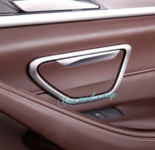 For BMW 5 SERIES G30 2017 2018 ABS Matte Interior Rear Row Side Cigarette Ashtray Cover Trim 2pcs Car Styling Accessories!