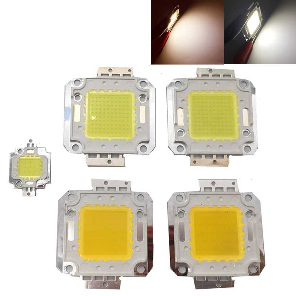 1 stks LED 1 w 3 w 10 w 20 w 30 w 50 w 100 w High Power lamp geïntegreerde Chip lichtbron COB SMD Spot Lamp Schijnwerper