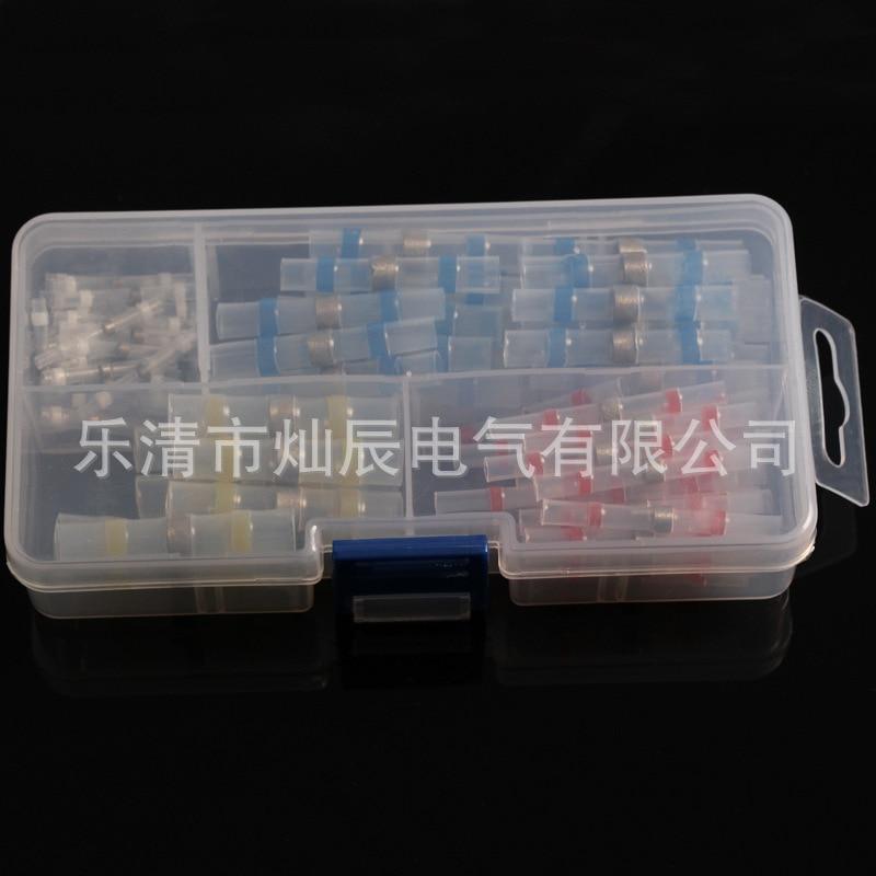 100pcs/ box Heat Shrink Soldering ring terminals