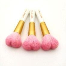 Kuas Makeup Berbulu Berbulu Bedak Pewarna Aplikator Kecantikan Make Up Alat Concealer Blush Kosmetik Brushes