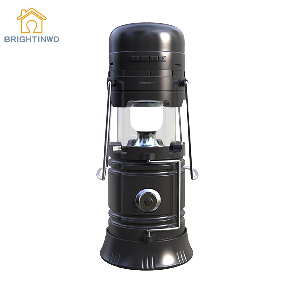 Multifucntion LED Camping Lantern Flashlights Camping Equipment Tent Light USB Rechargeable Survival Kit For Emergency Lighting